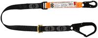 Adjustable Lanyard Single Leg, Snap/Scaff Hooks