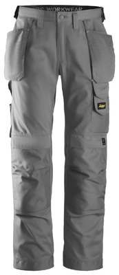 Snickers 3211 Craftsmen Holster Pocket Trousers, CoolTwill Grey