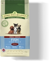 James Wellbeloved Adult Dog Small Breed - Fish & Rice 7.5kg