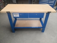 Work Bench With Drawers BLUE TM Tools TB01