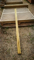 2.4m Timber H Post