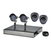 CCTV KIT 960H 8CH DVR, 1.0TB, 2 X 700TVL 2 DOME + 2 BULLETT CAMERAS