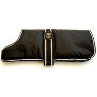 "Animate 'Type C' Dog Coat - Padded Lining 14"" Black x 1"