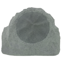 "TruAudio 8"" Outdoor Rock Speaker Grey"