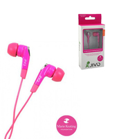 JI-1050 MP-3 iPhone Stereo Headset Pink