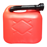 5lt Plastic Gerry Can red - 00936
