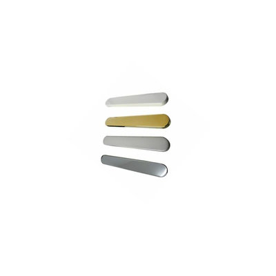 PATIO HANDLE BLANK PLATE GOLD
