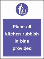 Food Processing and Hygiene Sign FOOD0014-0603