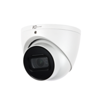 IC Realtime 6MP ePoE IP H.265E 2.7~13.5mm Motorised 50m IR Dome Camera with Microphone