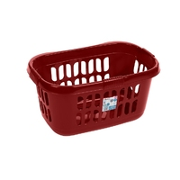 Casa Hipster Laundry Basket Chilli Red (WT897/1)