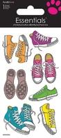 Retro Sneakers Essential Craft Sticker.