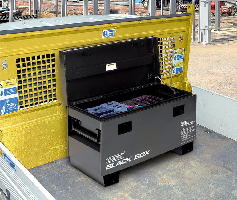 Draper Contractors Van Storage Box 1.2x.6M Black