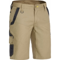 Bisley Flex & Move Cotton Stretch 265gsm Cargo Shorts