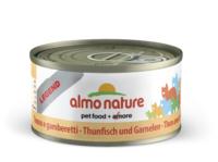 Almo Nature Legend Cat Cans - Tuna & Shrimps 70g x 24
