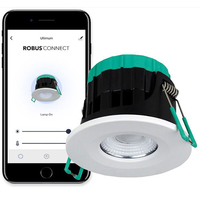 Robus 7W LED Ultimum Connect IP65 Tunable Downlight Fire Rated