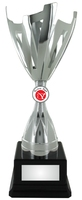 30cm Silver Metal Cup Trophy (V2251S)