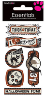Halloween Party Large Essential Craft Sticker. (Priced in singles, order in multiples of 6)
