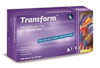 Aurelia Transform Powder Free Nitrile Glove (200's)