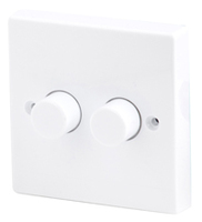 400W, 2 Gang 2 Way Dimmer Switch