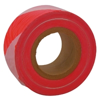 "3"" x 500m Barrier Tape (Red + White) (WT398/7)"