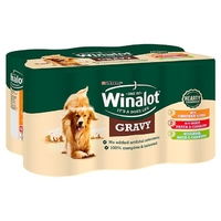 Winalot Adult Cans - Mixed Gravy 400g x 12