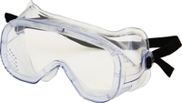 Large Clear White Economy Grinding Goggle Anti Fog PC Lens