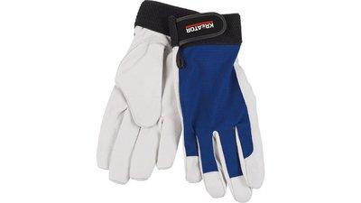 Kreator Blue Pigskin Pair Gloves