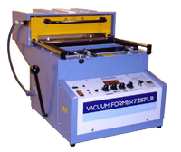 Vacuum forming machine, bench top model.