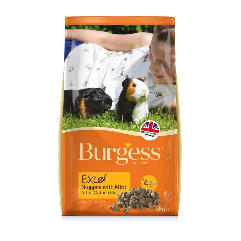 Burgess Excel Guinea Pig Nuggets 2kg