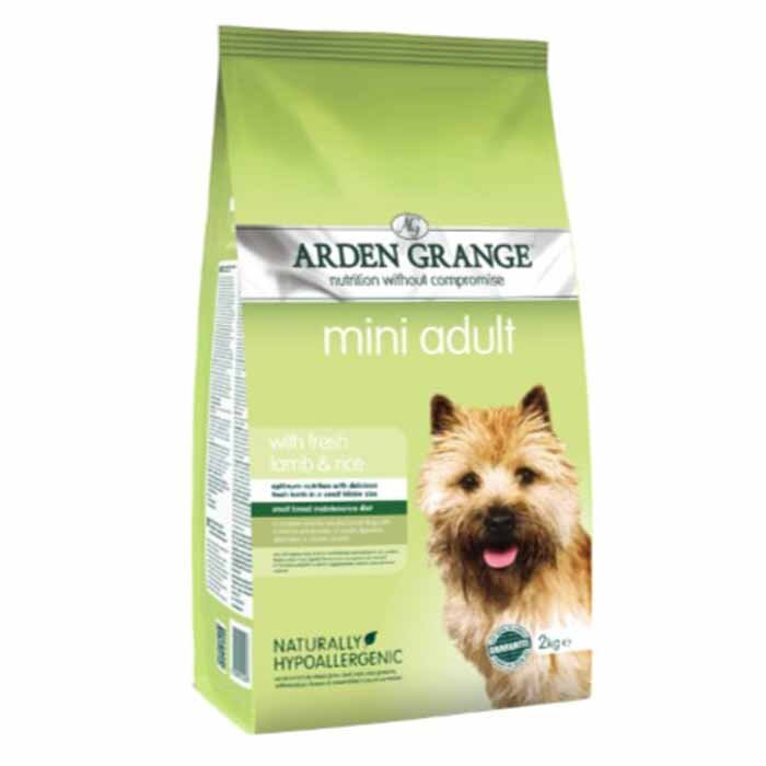 Arden Grange Mini Adult – with fresh lamb & rice