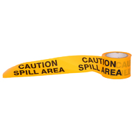 Caution Spill Hazard Tape - 50m