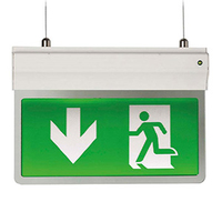 Ansell Eagle 3-In-1 2.5W LED Exit Sign White