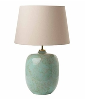 Elgar Table Lamp, Ceramic & Green Base Only, CEZ1629 Shade Separate | LV1802.0129