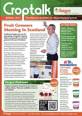 Crop Talk Spring 2012