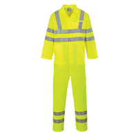 Portwest Hi-Visibility Poly-Cotton Coverall Hi-Vis Yellow
