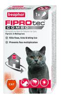 Beaphar FIPROtec COMBO Cat Spot On 1 Tube x 1