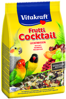 Vitakraft Parakeet & Cockatiel Fruitti Cocktail 250g x 6