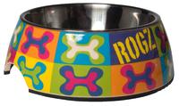 Rogz Dog Bowlz - Bubble Small Pop Art 160ml x 1