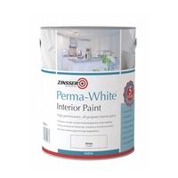 ZINSSER PERMA WHITE INTERIOR PAINT SATIN 5LT
