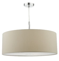 Ronda 60cm 3 Light Pendant Ecru, Compelte with Diffuser | LV1802.0091