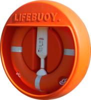Lifebuoy Cabinet, fits 30'' Lifebuoy