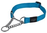 Rogz Utility Blue Large (Fanbelt) Obedience Half-Check Collar 13