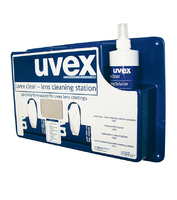 Uvex Eyewear Cleaning Station Full