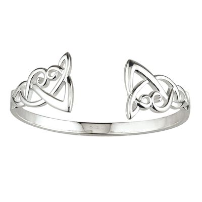 S/S BANGLE CELTIC FRONT (BOXED)