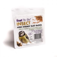 Suet to Go Seed & Insect Suet Block 325g x 6