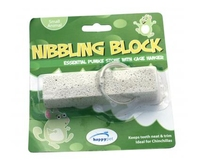 "Happy Pet Chinchilla Nibbling Block 4"" on Hanger x 8"