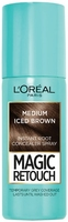 LOreal Magic Retouch Root Concealer Spray Medium Iced Brown 75ml
