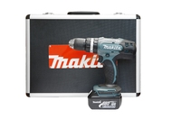Makita 18V Corldess Hammer Drill With 2 Li-ion Batteries