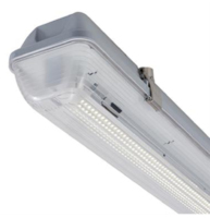 IP65 PREWIRED CORROSION PROOF FOR LED TUBES 2X1500