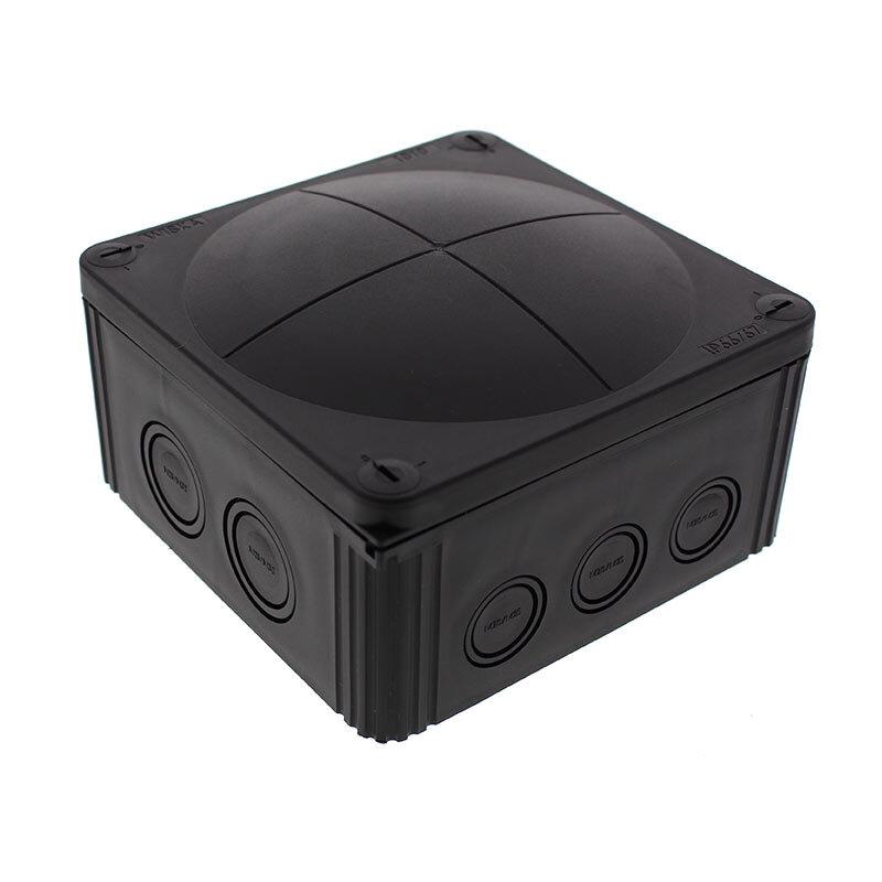 Wiska Combi 1010 Junction Box Black 10062215